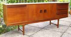 (16) Retro 1960's Danish Style Sideboard by Stonehill in Excellent Condition | eBay