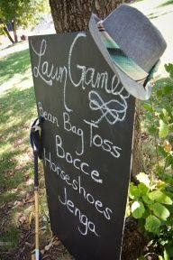 Great Gatsby party ideas...Bocce is a fav of mine!! I think we still have a set, will have to check with Ants