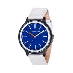 メンズ 腕時計 アナログウォッチ 人気 トーキョーベイ プレゼント ウォッチ クラシック  T366-BL スペック Spec Mens ブルー 本革バンド tokyobay2