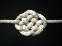 DIY cloud knot (video)