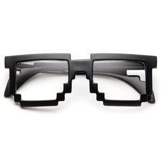 @Chantelle de Lange pixel glasses.  Dude, hoe geeky en awesome sal dit nie wees nie!!!!
