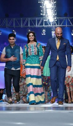 #Ittehad Collection at #PFDC Sunsilk Fashion Week 2015