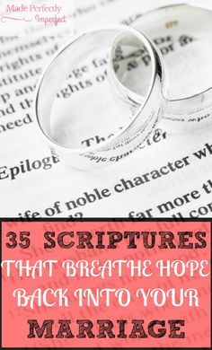 35 Scriptures That Breathe Hope Back Into Your Marriage
