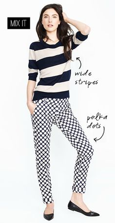 Stipes and polka dots:)