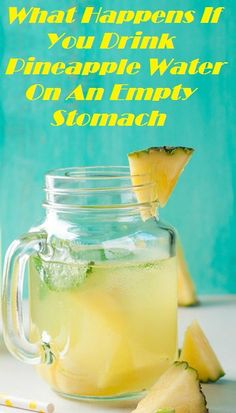 What Happens If You Drink Pineapple Water On An Empty Stomach More from my site Detox Water Recipes to Lose Weight Detox Kur, Detox Juice Cleanse, Detox Drinks, Detox Juices, Diet Detox, Detox Foods, Gluten Detox Cleanse, Detox Lunch, Health Cleanse