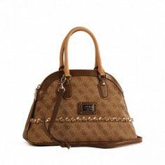 Guess Cheatin Heart Handbag Brown Sc481207