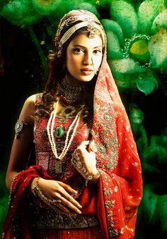 KUKI concepts traditional Pakistani bridal wear. great photo!