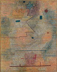 "design-is-fine: "" Paul Klee, Rising Star | Aufgehender Stern, 1931. Oil on canvas. Photo Robert Bayer, Basel """
