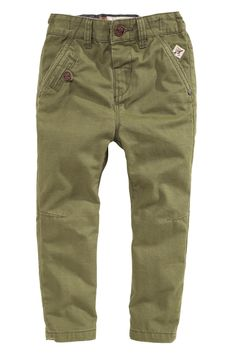 Buy Khaki Textured Chinos from the Next UK online shop Boy Outfits, Casual Outfits, Men Casual, Twill Pants, Khaki Pants, Short Shirts, Boy Fashion, Formal, Trousers