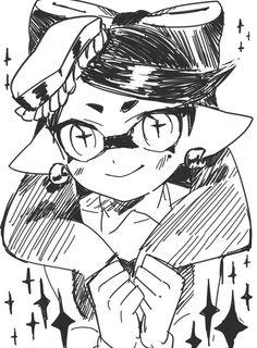 「落書きまとめ」/「納豆だいすきマン」の漫画 [pixiv] #SquidSisters #Callie
