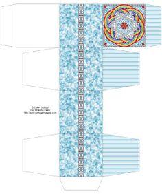 Don't Eat the Paste: April Rain Mandala Boxes
