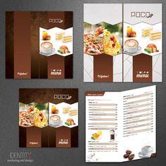 Dizajn menija za klijenta: Caffe Poco / Design of menu card for client: Caffe Poco Container, Food, Design, Essen, Meals, Yemek, Eten