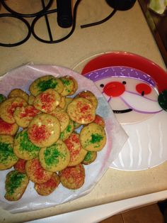 My Christmas cookies made from scratch every year. #spritzercookies #sugar #dessert #holidaytradition