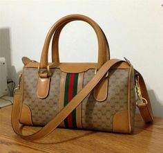 Gucci Bag - Satchel $215  #gucci #tradesy #onsale #designerbags #monogram #satchel