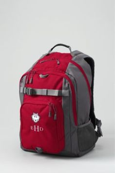 26fb5ce203e8 Solid ClassMate® Large Backpack from Lands  End