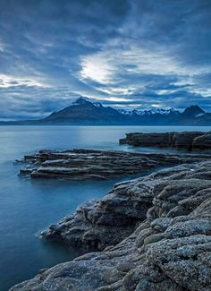 Blue Elgol, Isle of Skye, Scotland.