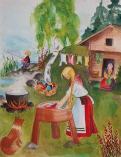 Finland ~ Mirja Clement ~ Washing