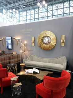 Modern Furniture Fair 2017 covet house stand at icff nyc 2017! contemporary modern luxury