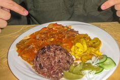 ajiaco caldosa cocina cubana comida cubana congri frijoles langosta picadillo por libre recetas cubanas ropa vieja típicos tradicionales yuca con mojo