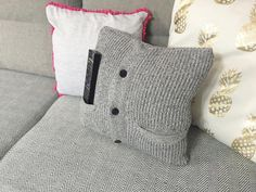 Stare na nowe #4 - Jak uszyć poduszkę ze swetra?