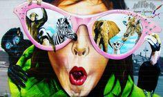 Graffiti artístico a