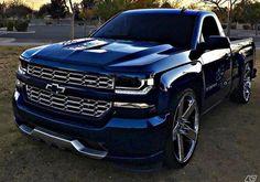 Chrome and blue Chevy truck Dropped Trucks, Lowered Trucks, Lifted Chevy Trucks, Gm Trucks, Chevy Pickups, Chevrolet Trucks, Diesel Trucks, Cool Trucks, Pickup Trucks