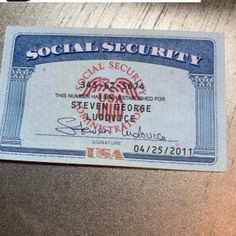 Social Security Card 16 – SSN DOWNLOAD Fake Birth Certificate, Ielts, Printable Checks, Drivers Permit, Card Templates, Templates Free, Bank Statement, Social Security, Beach Wallpaper
