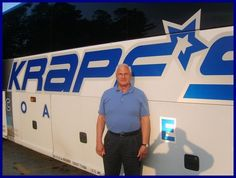 "We are very pleased to announce that our Driver of the Year for 2012 was Coach Driver Tom Riddle.  Tom has been a loyal and dedicated employee of Krapf's Coaches for over sixteen years and has proven himself to be a very valuable employee.  Tom is one of our most consistent drivers with regard to professionalism and in providing exemplary service to our customers. Consequently, Tom was the only driver to earn the distinction of ""Driver of the Month"" twice during the 2012 calendar year."