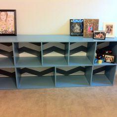 Homemade bookshelf :)