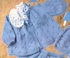 Blog By Day: Casaquinho Azul com Furinhos :: Scan