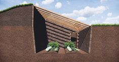 A walipini is basically like a greenhouse crossed with a root cellar. The growing area is dug into the ground while a greenhouse roof covers the open space. cellar How to Build a Walipini Greenhouse Best Greenhouse, Greenhouse Plans, Traditional Greenhouses, Underground Greenhouse, Rammed Earth Homes, Wooden Greenhouses, Living Roofs, Root Cellar, Sump Pump