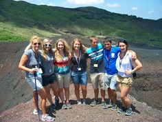 Yes, we climbed Mt. Etna!