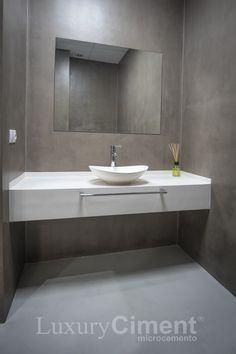 Imágenes de microcemento. Resultado final de microcemento en baños, paredes…