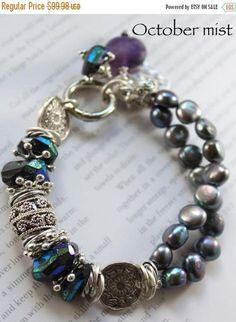 bracelet spinel bracelet fluorite bracelet black bracelet