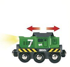 Amazon.com: BRIO Freight Battery Engine: Toys & Games
