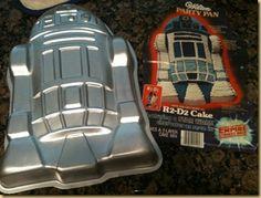 R2D2 cake pan