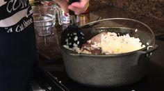 BBQ Brisket - Cast Iron Cooking Recipe | Radacutlery.Com -- Watch Rada Cutlery create this delicious recipe at http://myrecipepicks.com/26568/RadaCutlery/bbq-brisket-cast-iron-cooking-recipe-radacutlery-com/