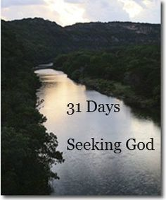 Linda's Patchwork Quilt: 31 Days Seeking God - Day 1