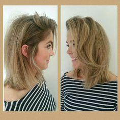 #hair #lob #beigeblond #2016