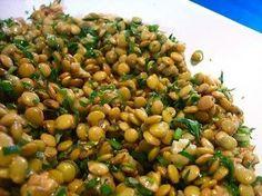 Show de Salada de Lentilha ! Vegetarian Recipes, Cooking Recipes, Healthy Recipes, Good Food, Yummy Food, Portuguese Recipes, Light Recipes, My Favorite Food, Salad Recipes