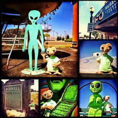 E.T. goes to Roswell, NM. Photo by amperryphotography