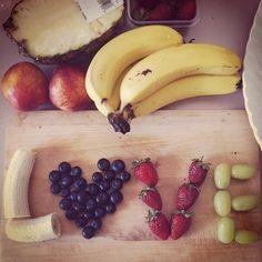 Oh hey fruit!