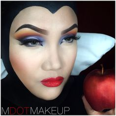 Disney's Evil Queen from Snow White. By MDOTMAKEUP