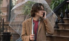 """""""A Rainy Day in New York"""" - pointer. Diego Luna, Selena Gomez, Elle Fanning, Brie Larson Films, Gatsby, New York Movie, Movies For Boys, Timmy T, Mr Style"""