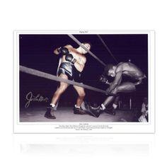 Jake LaMotta Signed Boxing Photograph: Raging Bull Autographed Sport Memorabilia