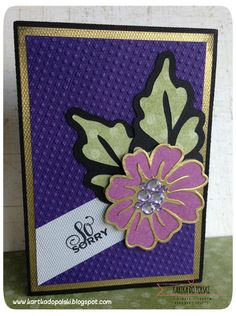 36 'So sorry... for your loss' card #wowembossingpowder #LoriWhitlock #cardmaking