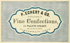 fine confections. are there prettier words in the english language?