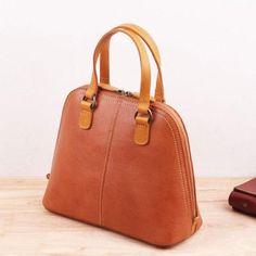 Genuine Leather Handmade Handbag Crossbody Bag Shoulder Bag – Evergiftz