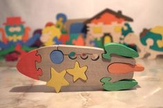 Wooden ecofriendly toys for babies, children, kids Wooden Diy, Handmade Wooden, Toys For Girls, Kids Toys, Eco Friendly Toys, Puzzles For Kids, Wooden Puzzles, Wood Toys, Making Ideas