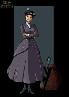 mary poppins by nightwing1975.deviantart.com